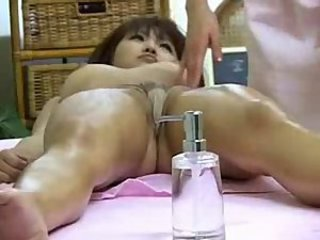Asian HiddenCam Japanese Massage Mature Oiled Voyeur