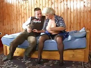 granny - Mature dealings motion picture -