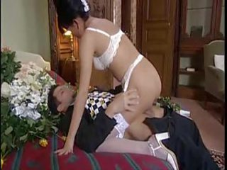 Erotic foreplay with his spectacular new link up