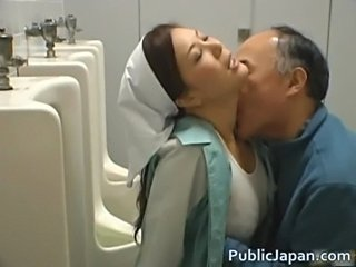 Asian Japanese Kissing  Toilet