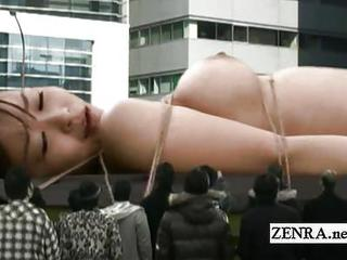 Freakish Giant Naked Japan Woman Sex Toy