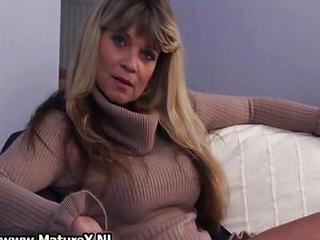 Older Mature Blond Womain With Nice