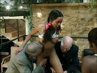Gangbang Old and Young Teen