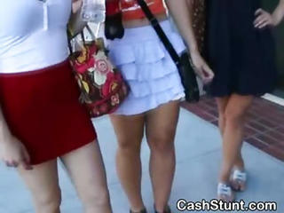 Amateur Cash Outdoor Skirt Teen