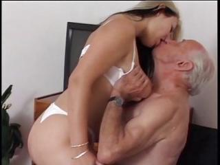 Big Tits Kissing Lingerie Nurse Old and Young Teen