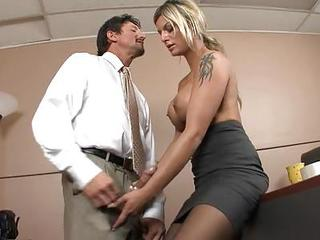 Sex At Work Is The Best Kind For Klarisa Leone