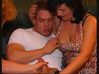 Groupsex Handjob Mature Party