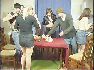 Amateurs play the game - hot friends party