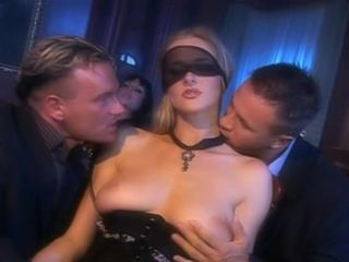 Jane Darling and Sarah Twain in foursome fucking