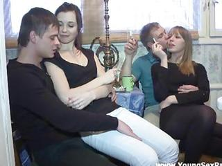 Amateur Groupsex Russian Smoking Swingers Teen