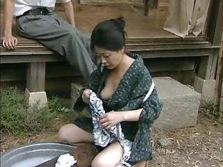 Asian Japanese Mature Outdoor