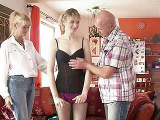 Dirty Parents Seduces Their Son's Gf