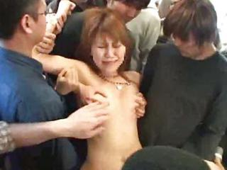 Innocent Teen Groped  Fucked On A Train