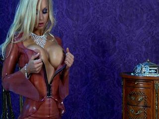 Jenny Poussin Latex Chandelier