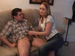 Girlfriend Handjob