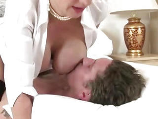Mature Dirty Slut Lady Sonia Puts Her Tits To Work Jerking