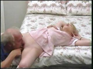 Daddy Daughter Licking Old and Young Teen Vintage