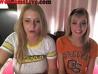 2 Webcam Lesbians Get Unceasingly Other Retire from