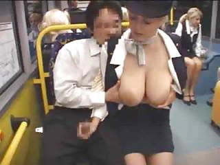 Big Tits Bus Handjob Natural Public Teen Uniform