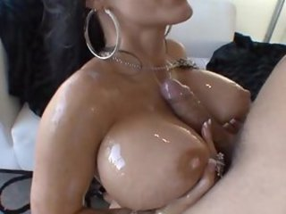 Jenna Presley has oiled up hardcore sex