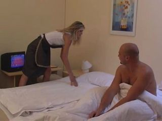 Maid gets ass fucked...