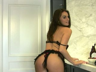 Lusty beautifulTori Black feels real hot and horny in her sexy lingerie