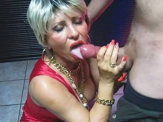 Lady barbara blowjob 1