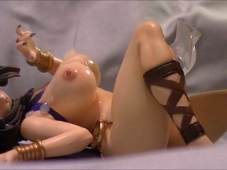 Anime Figure Bukkake (Queen Menace 2)