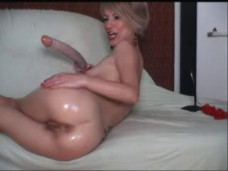 Anal Dildo Masturbating Mature Solo Toy Webcam