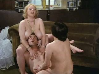 Big Tits  Natural Threesome Vintage