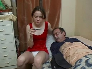 Daddy Daughter Old and Young Panty Teen Upskirt