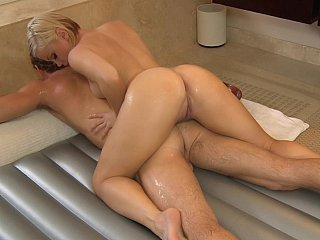 Amazing Ass Massage MILF Oiled