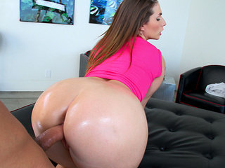 Ass Babe  Doggystyle Hardcore Oiled