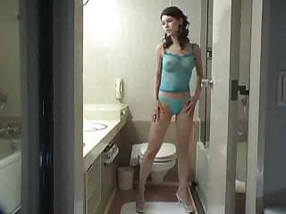 Bathroom Lingerie Teen