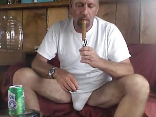 Dad Smoking A Well Deserved Cigar Chip Fucking Mom