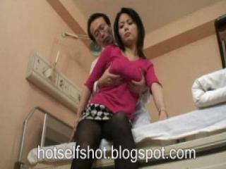 Asian Doctor Japanese  Natural Pantyhose