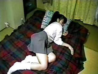 Amateur Asian Homemade Japanese Skirt Sleeping Teen