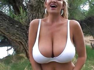 Watch Kelly Madison's Tits Bounc...