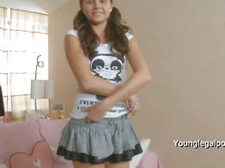 Anal  First Time Pigtail Skirt Stripper Teen