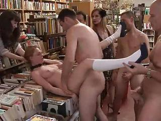 A Group Of Guys Punish A Naught...