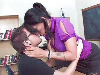 Hot Mature Teacher Seduce Her St...