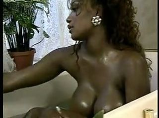 Amazing Bathroom Big Tits Ebony  Vintage