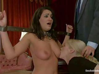 Brunette Charley Chase And Blond...