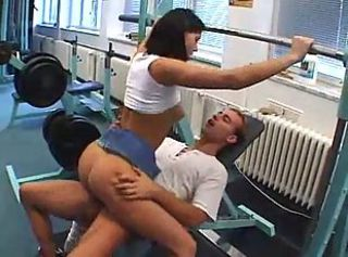 Sexy Girl Fucked By The Gym Instructor...F70