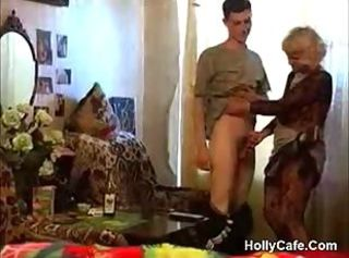 Granny Takes A Bottle Added to Dick Amateur