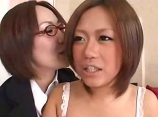 Asian Glasses Japanese Lesbian Teen