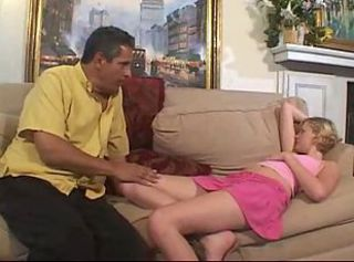 Babysitter Old and Young Skirt Sleeping Teen