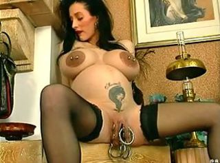 Pregnant O& 039;Pearl Huge Cunt Ring
