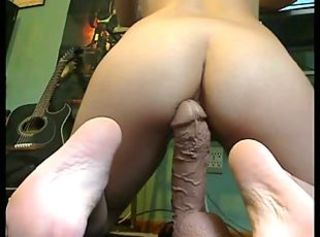 Ass Dildo Masturbating Toy Webcam