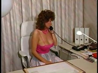 Big Tits  Natural Office Secretary Vintage